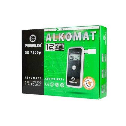 PROMILER ALKOMAT GR-7500P + KALIBRACJE