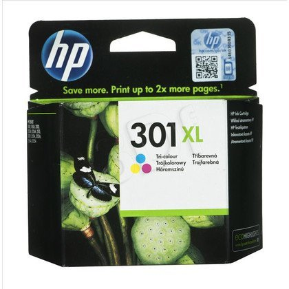 HP Tusz Kolor HP301XL=CH564EE, 330 str., 6 ml
