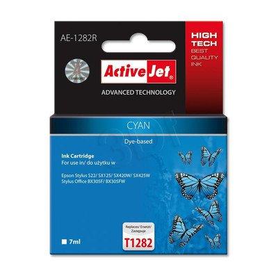 ActiveJet AE-1282R tusz cyan do drukarki Epson (zamiennik Epson T1282) Premium