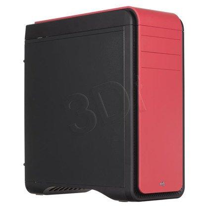 OBUDOWA AEROCOOL DS 200 RED USB3.0 - CZARNO-CZERWON