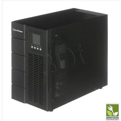 UPS CYBERPOWER OLS3000E (VFI, Tower, 3000VA, 2400W, 6xIEC (6xBackup), FL5min/HL14min, możliwość podłaczenia dodatkowych modułów bateryjnych)