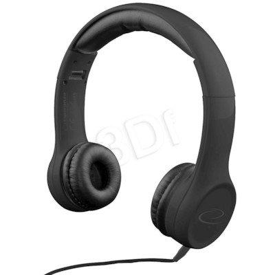 Słuchawki nauszne Esperanza FUNK EH140K (Czarny)