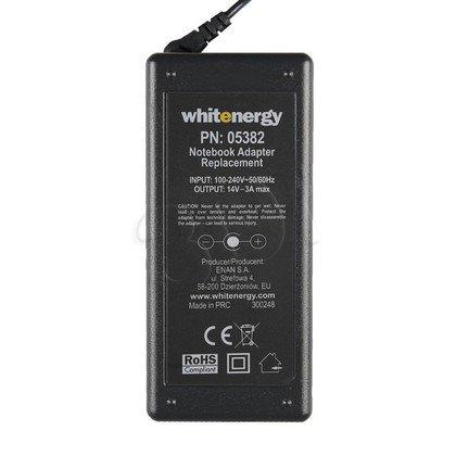 WHITENERGY ZASILACZ LCD 14V/3A wtyk 6.5 x 4.4 + PIN