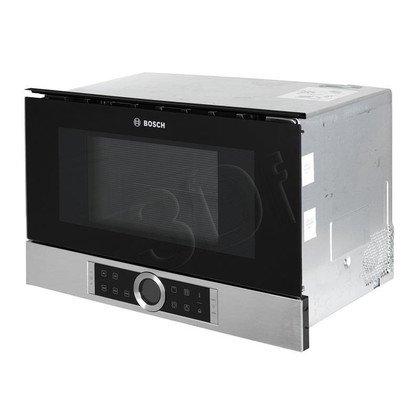 Kuchenka mikrofalowa Bosch BER634GS1 (900W/Stal szlachetna)