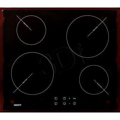 Płyta Indukcyjna Akpo PIA 60 82501 (4-polowa Czarny)