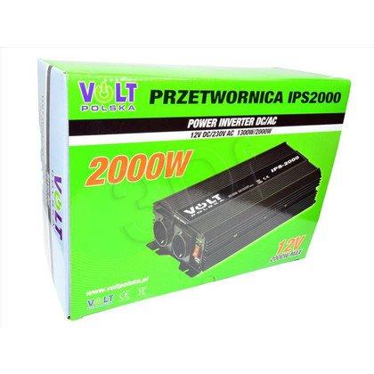 VOLT POLSKA PRZETWORNICA IPS 2000 12/230V USB