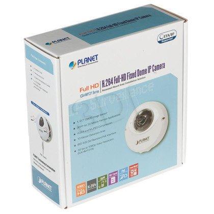 PLANET [ICA-HM131] Kamera IP kopułkowa [wewnętrzna] [2 Mega-Pixel] [PoE 802.3af] [ONVIF] [H.264] [slot microSD,Full HD]