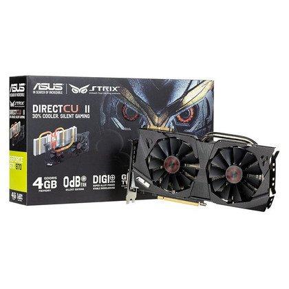 ASUS GeForce GTX 970 4096MB DDR5/256bit DVI/HDMI/DP PCI-E (1178/7010) (wer. STRIX) (wentylator DirectCU II)
