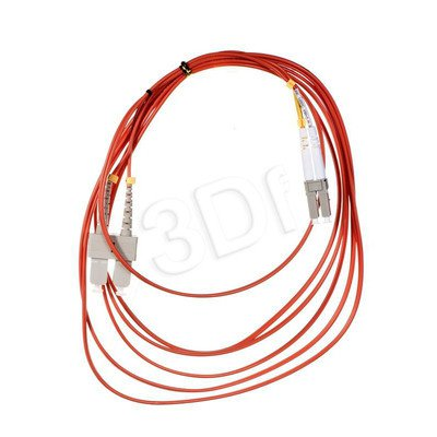 ALANTEC patchcord światłowodowy MM LSOH FOC-LCSC-5MMD-3 3m LC-SC duplex 50/125 pomarańczowy