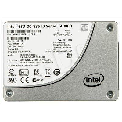 Dysk SSD Intel DC S3510 480GB SATA III
