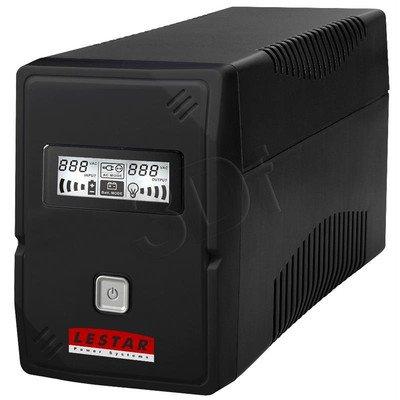LESTAR UPS V-855F 850VA AVR LCD GF 2XFR USB RJ 11
