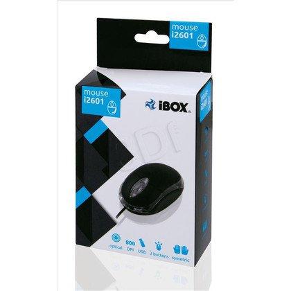 MYSZ I-BOX i2601 OPTYCZNA PRZEWODOWA, USB BLACK
