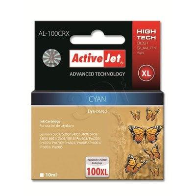 ActiveJet AL-100CRX tusz cyan do drukarki Lexmark (zamiennik Lexmark 100XL 14N1068) Premium