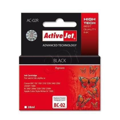 ActiveJet AC-02R tusz czarny do drukarki Canon (zamiennik Canon BC-02)