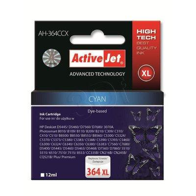 ActiveJet AH-364CCX (AH-C23) tusz cyan do drukarki HP (zamiennik HP 364XL CB323EE)