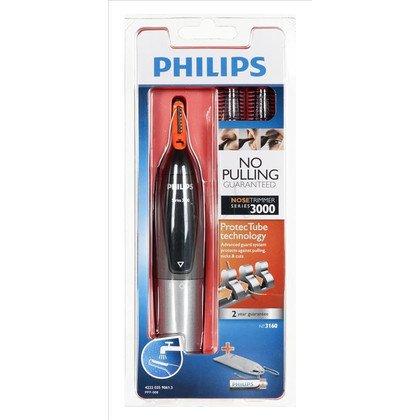 Trymer do nosa i uszu Philips NT 3160/10 (Czarno-szary)