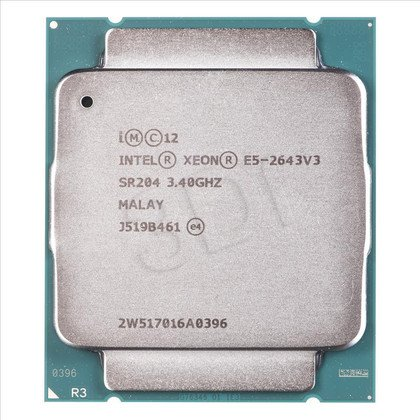 Procesor Intel Xeon E5-2643 V3 3400MHz 2011-3 Oem