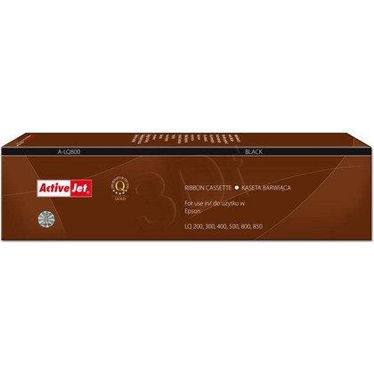 ActiveJet A-LQ800 kaseta barwiąca kolor czarny pasuje do drukarki igłowej Epson (zamiennik S015021)