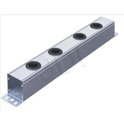 """ALANTEC Panel 19"""" 1U aluminiowy pod osprzęt 45x45"""