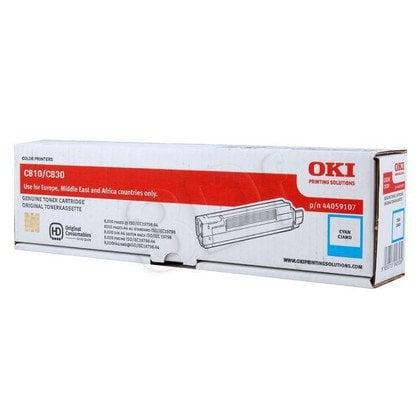 OKI Toner Niebieski C810/C830-TC=44059107=C810, C830, 8000 str.