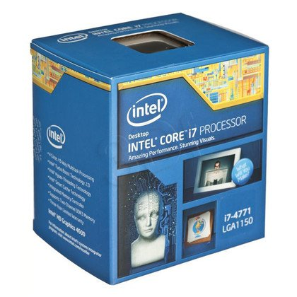 PROCESOR CORE i7 4771 3.5GHz LGA1150 BOX