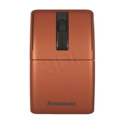 LENOVO Mysz bezprzewodowa laserowa N70 888014324 1200dpi pomarańczowa