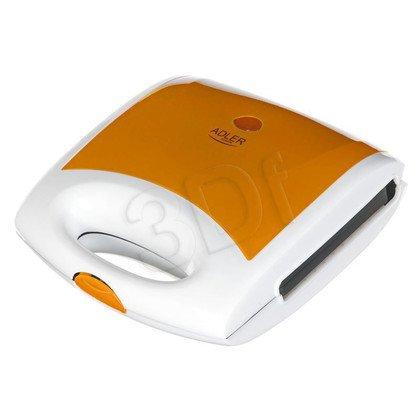 Gofrownica Adler AD 3021 orange (750W Biało-pomarańczowy)