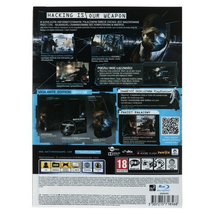 Gra PS3 Watch Dogs Vigilante Edition