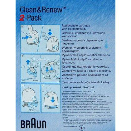 Wymienne wkłady do baz ładujaco-czyszczących Braun CCR 2