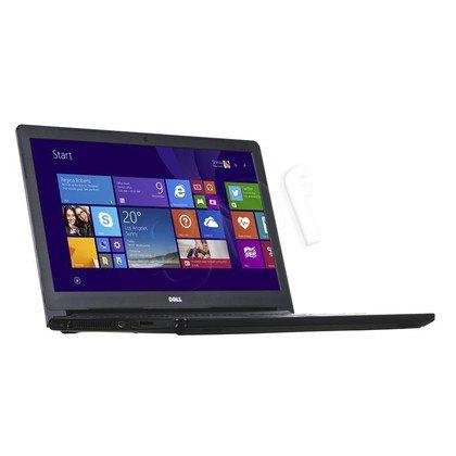 """DELL Inspiron 5558 i3-5005U 4GB 15,6"""" HD 1000GB HD5500 GT920M BSY Czarny (5558-8545) 2Y NBD"""