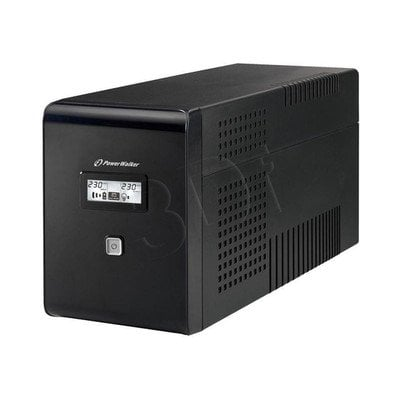 POWER WALKER UPS LINE-INTERACTIVE 1500VA 2X 230V PL + 2XIEC OUT, RJ11/RJ45 IN/OUT, USB, LCD