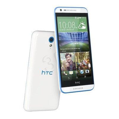 """Smartphone HTC Desire 620G dual sim 8GB 5"""" biały/niebieski"""