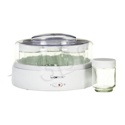 Automat do jogurtu Clatronic JM 3344 biało-transparentny