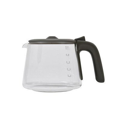 Szary szklany dzbanek do ekspresu do kawy (4055105771)