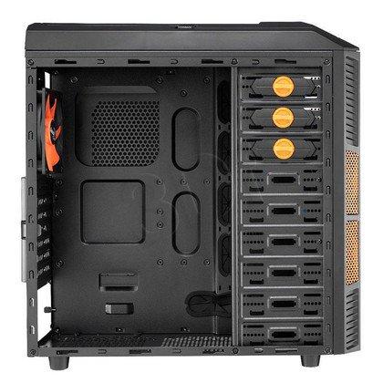 OBUDOWA AEROCOOL XPREDATOR X1 EVIL BLACK - USB3.0 - CZARNO-POMARAŃCZOWA