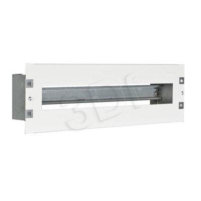 """TRITON PANEL DYSTRYBUCJI NAPIĘĆ 3U 19"""" dla wyłącznika instalacyjnego z pokrywą, Szyna DIN"""