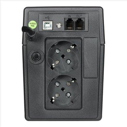 ActiveJet UPS AJE-EASY 850VA LCD/USB/2xSchucko/9Ah