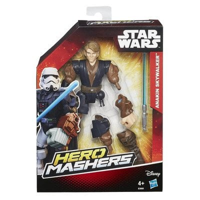 SW STAR WARS E7 HERO MASHERS FIGURKA 15CM (ANAKIN JEDI) B3656