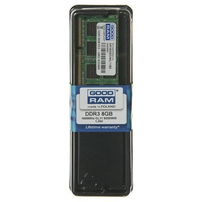 GOODRAM SO-DIMM DDR3 8192MB PC1600 CL11 512x8 1,35V