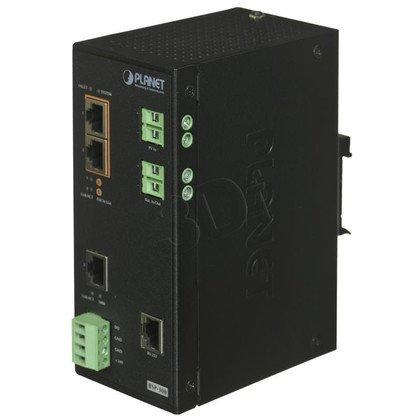 PLANET BSP-300 Switch zasilany panelem słonecznym