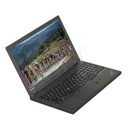 """LENOVO ThinkPad W541 i7-4810MQ 8GB 15,6"""" FHD 256GB HD4600 K2100M Win7P W10P Czarny 20EF001UPB 3Y"""