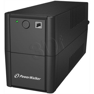 POWER WALKER UPS LINE-INTERACTIVE 850VA 2X 230V PL OUT, RJ11 IN/OUT, USB