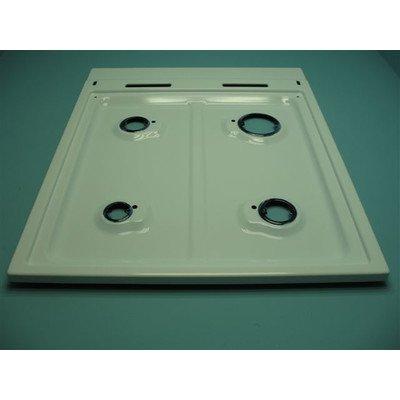 Płyta gaz.500,biała(2komin,z zap,b/zab) (9001244)