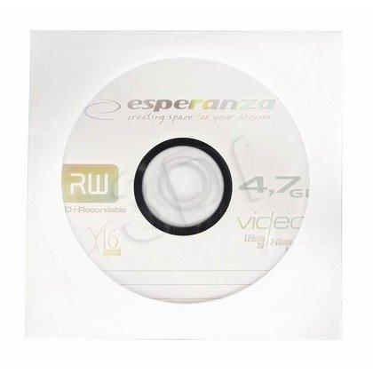 DVD+R ESPERANZA 4,7GB X 16 KOPERTA 1SZT.