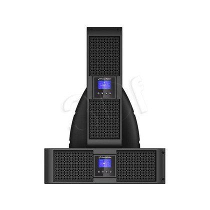 POWER WALKER UPS ON-LINE 6000VA 4X IEC + 2X IEC/C19 + TERMINAL OUT, USB/RS-232, LCD, RACK 19""