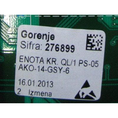 Moduł elektroniczny skonfigurowany do pralki (276899)