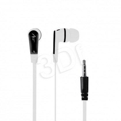 Słuchawki douszne z mikrofonem ART S2A (biały)