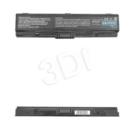 QOLTEC BATERIA DO NOTEB.- TOSHIBA SATELLITE A200