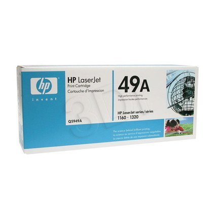 HP Toner Czarny HP49A=Q5949A, 2500 str.