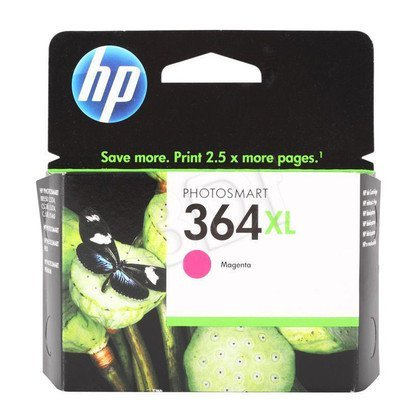 HP Tusz Czerwony HP364XL=CB324EE, 750 str., 6 ml